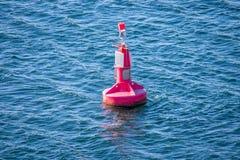 Ένας κόκκινος σημαντήρας Στοκ εικόνες με δικαίωμα ελεύθερης χρήσης