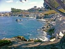 Ένας κόλπος στο ασβέστιο Monterey Στοκ Φωτογραφία