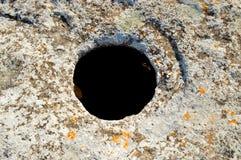Ένας κύκλος σε μια πέτρα Στοκ Εικόνες