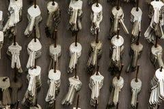 Ένας μεγάλος αριθμός βασικών κενών στο εργαστήριο Στοκ Φωτογραφία