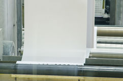 Ένας μεγάλος Τύπος εκτύπωσης όφσετ Στοκ Εικόνες