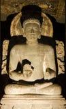 Ένας με το Βούδα που δίνει το κήρυγμά του Στοκ Φωτογραφία
