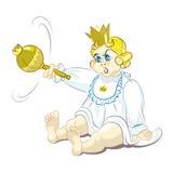 Ένας μικρός πρίγκηπας Στοκ φωτογραφίες με δικαίωμα ελεύθερης χρήσης