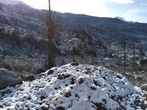 Ένας μικρός σωρός του χιονιού Στοκ Εικόνες