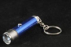 Ένας μπλε οδηγημένος αργίλιο φανός στοκ εικόνα