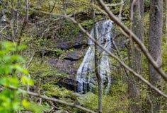 Ένας μυστικός καταρράκτης βουνών στοκ φωτογραφία με δικαίωμα ελεύθερης χρήσης