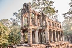 Ένας ναός σε Angkor Στοκ φωτογραφίες με δικαίωμα ελεύθερης χρήσης
