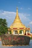 Ένας ναός στα σύνορα της Κίνας - της Βιρμανίας Στοκ Εικόνα