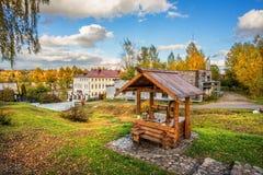 Ένας ξύλινος καλά σε Plios Στοκ φωτογραφίες με δικαίωμα ελεύθερης χρήσης