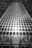Ένας ουρανοξύστης του Καναδά στο Canary Wharf στο Λονδίνο - το ΛΟΝΔΙΝΟ - τη ΜΕΓΑΛΗ ΒΡΕΤΑΝΊΑ - 19 Σεπτεμβρίου 2016 Στοκ φωτογραφίες με δικαίωμα ελεύθερης χρήσης