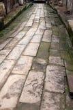 Ένας παλαιός βρώμικος δρόμος Στοκ φωτογραφία με δικαίωμα ελεύθερης χρήσης
