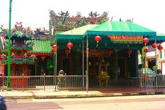 Ένας παλαιός ναός στο τέλος της σύνδεσης σε Kuching, σημείο τουριστών Sarawak στοκ εικόνες με δικαίωμα ελεύθερης χρήσης