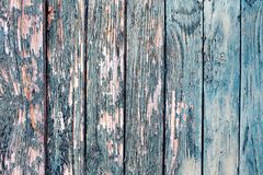 Ένας παλαιός χρωματισμένος φράκτης Στοκ εικόνα με δικαίωμα ελεύθερης χρήσης