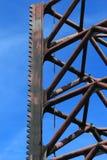 Ένας παράκτιος Jack επάνω στενό σε επάνω ποδιών εγκαταστάσεων γεώτρησης Στοκ φωτογραφίες με δικαίωμα ελεύθερης χρήσης