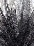 Ένας παφλασμός της μαύρης δαντέλλας στοκ εικόνες