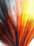 Ένας παφλασμός της μαύρης και πορτοκαλιάς δαντέλλας στοκ φωτογραφίες