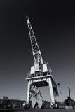 Ένας παλαιός θαλάσσιος γερανός Στοκ Εικόνα