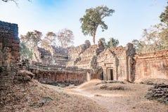 Ένας παλαιός ναός σε Angkor Στοκ Εικόνες