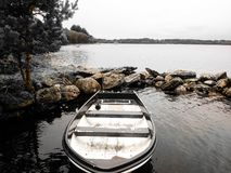 ένας περίπατος κατά μήκος της λίμνης Στοκ Εικόνες