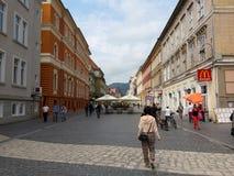 Ένας περίπατος σε Brasov, Ρουμανία Στοκ φωτογραφίες με δικαίωμα ελεύθερης χρήσης