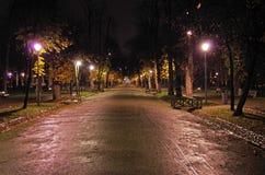 Ένας περίπατος στη νύχτα στοκ φωτογραφίες