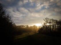 Ένας περίπατος το πρωί στοκ φωτογραφία με δικαίωμα ελεύθερης χρήσης