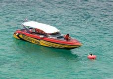 Ένας πνίγοντας κολυμβητής διάσωσης στη θάλασσα στοκ φωτογραφίες