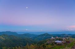 Ένας πολύ όμορφος ουρανός στην Ταϊλάνδη στοκ φωτογραφίες