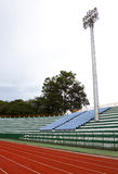 Ένας προβολέας γηπέδου ποδοσφαίρου Στοκ Εικόνα