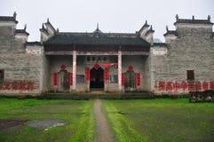 Ένας προγονικός ναός σε Pingjiang Στοκ Εικόνα