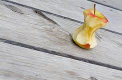 Ένας πυρήνας μήλων Στοκ Εικόνες