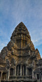 Ένας πυροβολισμός του πύργου Angkor Wat σε Siem συγκεντρώνει, Καμπότζη Στοκ εικόνα με δικαίωμα ελεύθερης χρήσης