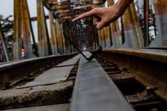 Ένας σιδηρόδρομος στο Βιετνάμ στοκ φωτογραφίες με δικαίωμα ελεύθερης χρήσης