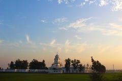 Ένας σιχ ναός στο Punjab Ινδία Στοκ Εικόνες