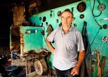 Ένας σιδηρουργός Στοκ φωτογραφία με δικαίωμα ελεύθερης χρήσης