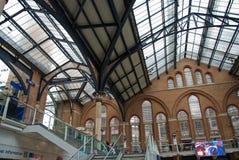 Ένας σταθμός του Λονδίνου Στοκ Εικόνα