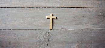 Ένας σταυρός σε έναν τοίχο στοκ εικόνες