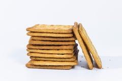 Ένας σωρός του μπισκότου Στοκ Εικόνα