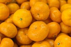 Ένας σωρός του πορτοκαλιού Στοκ Εικόνα