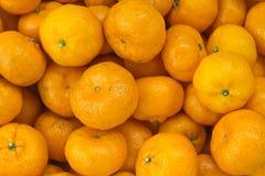 Ένας σωρός του πορτοκαλιού Στοκ Φωτογραφίες