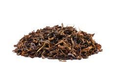 Ένας σωρός του πράσινου τσαγιού Ένας σωρός τσαγιού που απομονώνεται σε ένα άσπρο υπόβαθρο πράσινο φυσικό τσάι φύλλων Υγιεινό τσάι Στοκ εικόνα με δικαίωμα ελεύθερης χρήσης