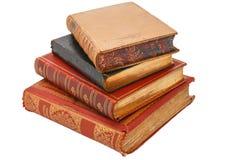 Ένας σωρός των εκλεκτής ποιότητας βιβλίων Στοκ Φωτογραφία