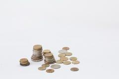 Ένας σωρός των νομισμάτων Στοκ Εικόνα