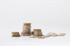 Ένας σωρός των νομισμάτων Στοκ εικόνες με δικαίωμα ελεύθερης χρήσης