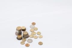 Ένας σωρός των νομισμάτων Στοκ φωτογραφίες με δικαίωμα ελεύθερης χρήσης