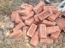Ένας σωρός των τούβλων Στοκ Φωτογραφία