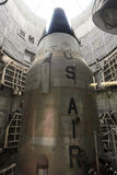 Ένας τιτάνας ΙΙ ICBM στο σιλό του Στοκ Εικόνες