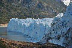 Ένας τοίχος πάγου Στοκ εικόνες με δικαίωμα ελεύθερης χρήσης