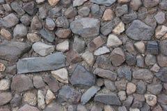 Ένας τοίχος πετρών διαμορφώνει ένα υπόβαθρο στοκ φωτογραφία