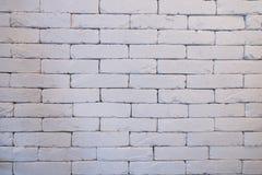 Ένας τοίχος τούβλων με το τελειωμένο χρώμα με το φως και τη σκιά Στοκ Φωτογραφία